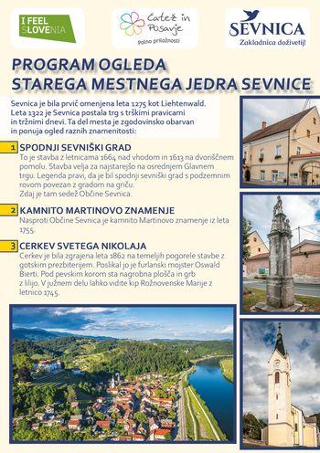 Ogled starega mestnega jedra Sevnice