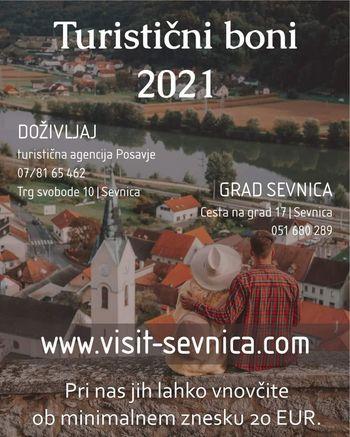 Turistični boni - možnosti koriščenja tudi v Doživljaj, turistična agencija Posavje ter na gradu Sevnica