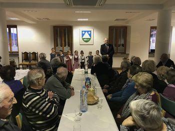 Srečanje starejših občanov občine Kobarid
