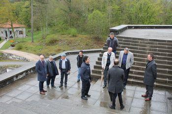Obisk italijanske delegacije v Kobaridu