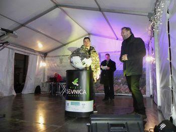 Na žrebu nagradne kartice nagrajeni trije obiskovalci Sevnice