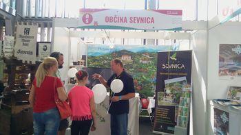 Uspešna predstavitev za družine in otroke na Otroškem bazarju v Ljubljani