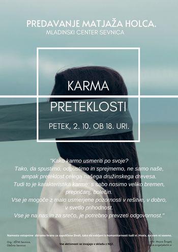 Matjaž Holc: Karma preteklosti