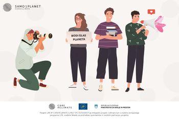 """SODELUJ V KREATIVNEM IZZIVU: """"Planet varujem, ko z energijo varčujem"""""""
