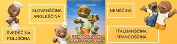 slikanica Medvedek peče slovensko potico