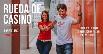 Rueda de Casino - nadaljevalni tečaj