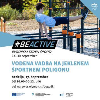 Brezplačna vodena vadba na novem jeklenem poligonu SIJ v Slovenj Gradcu
