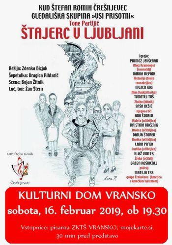 ŠTAJERC V LJUBLJANI - gledališki abonma in izven