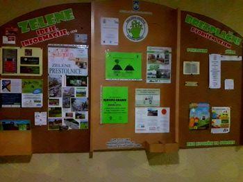 Novo v Zelenem info središču