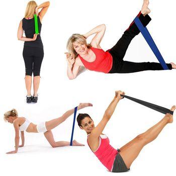 Oblikuj svoje telo z elastiko za vadbo- poceni in enostavno