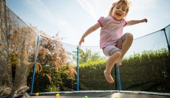 Ponovna uporaba odsluženega trampolina