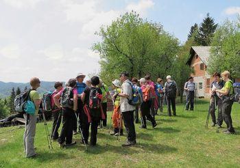 Sončki od Male vasi pri Iški do Rakitne