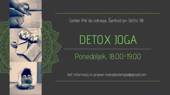 Detox joga
