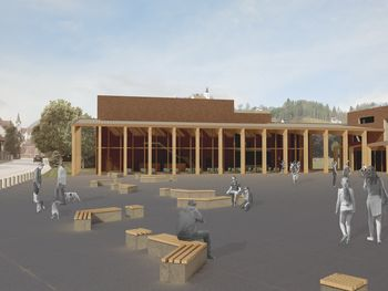Idejna zasnova kulturnega središča v Vojniku