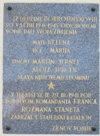 Na Dobrotinu (Med legendo in kruto resničnostjo)