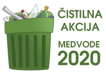 ODPOVEDANO: Čistilna akcija - Medvode 2020
