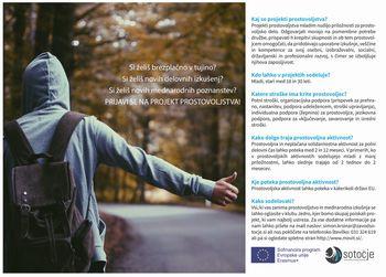 Projekt prostovoljstva - ESE