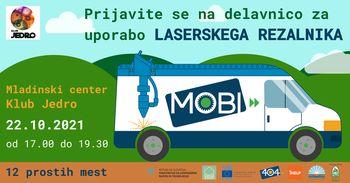 MOBI delavnica za uporabo laserskega rezalnika