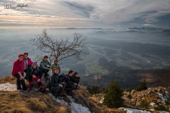 Z vipavskimi planinci na Tolsti vrh in Kriško goro