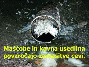 Najpogostejši razlogi za zamašitev kanalizacijskih cevi