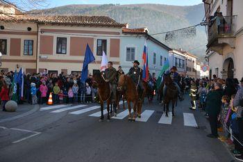 Blagoslov konjev in konjenikov v Vipavi