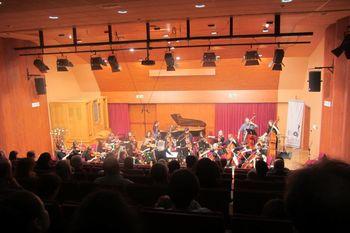 Godalni orkester ajdovske glasbene šole navdušil