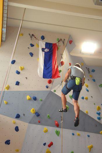 Odprtje nove plezalne stene v Lokavcu
