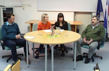 Z Alešem Štrancarjem in Romanom Globokarjem o igranju z geni