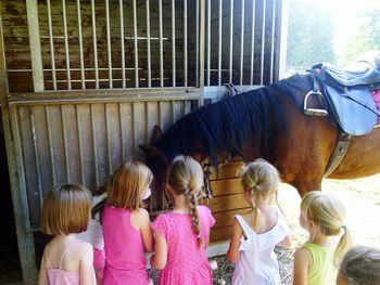 Otroške delavnice z jahanjem konj