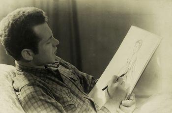 Ivo Lenščak. Slikar