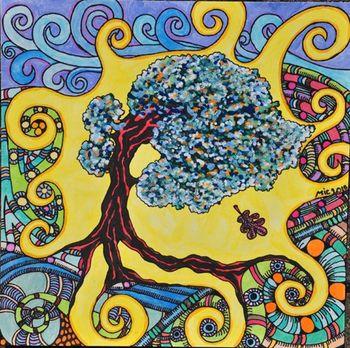 Razstava risb umetnice Nine Laloš (na ogled brez otvoritve)