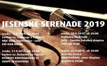 Jesenske serenade - GOSPE IN GOSPODJE (Kvartet kontrabasov Sf)