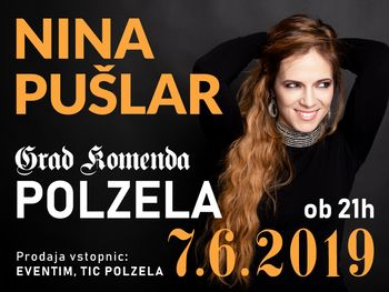 Nina Pušlar - koncert na gradu Komenda Polzela
