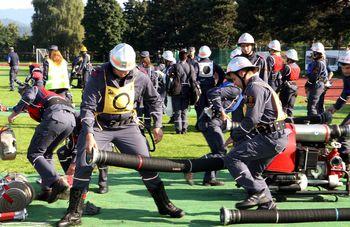 Tekmovalo 580 gasilcev - Uspeh Andraških gasilcev