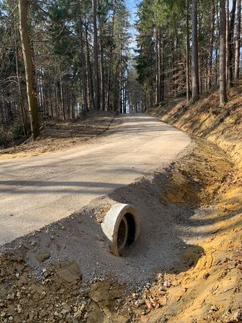 Obnovitvena dela na občinskih cestah