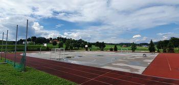 Malo nogometno igrišče z umetno travo v Športnem centru Polzela