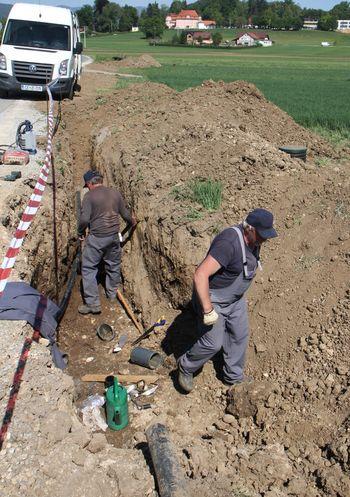 Posodobitev namakalnih sistemov na952 ha, v Občini Polzela 200 ha