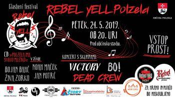 REBEL YELL POLZELA, glasbeni festival