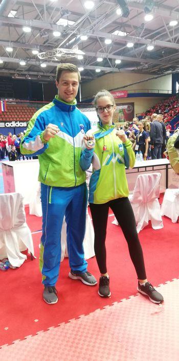 Aneja Jesenek Rojšek tretja na balkanskem otroškem prvenstvu