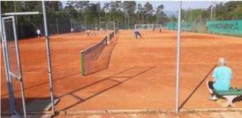 Prenova igrišč Teniškega kluba Polzela