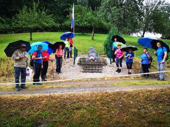 Pohod po spominskih obeležjih Andraža nad Polzelo