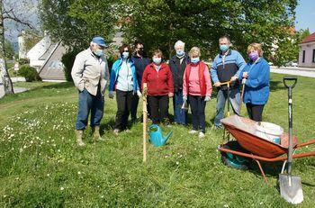 Zasaditev lipe ob 50-letnici Hortikulturnega društva Polzela