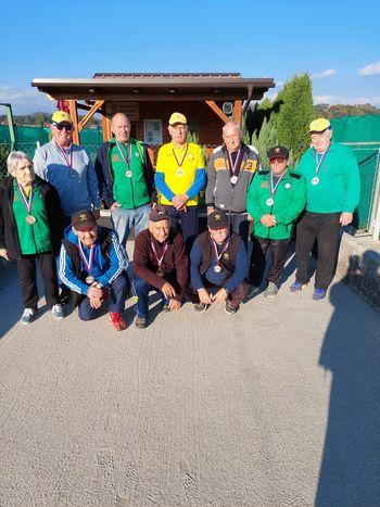 Člani kluba Balinc Polzela tudi letos uspešni v Štajerski ligi v balinanju