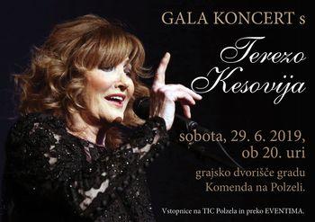 Gala koncert s Terezo Kesovijo