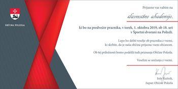 Slavnostna akademija ob prazniku Občine Polzela