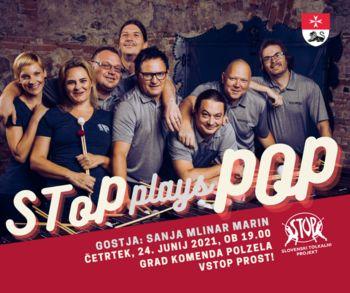Poletni večer na gradu Komenda SToP plays POP - VSTOP PROST!