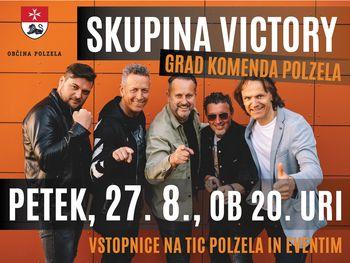 Poletni večer na gradu Komenda s skupino Victory
