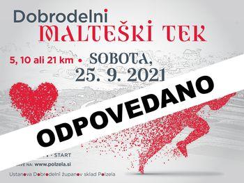 Malteški tek - ODPOVEDANO