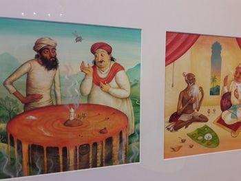 Ilustracije indijskih pravljic v Lični hiši