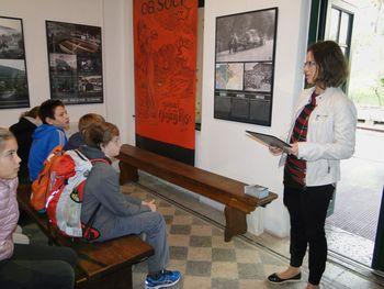 Tehnični dan Osnovne šole Slokan v občini Kanal ob Soči
